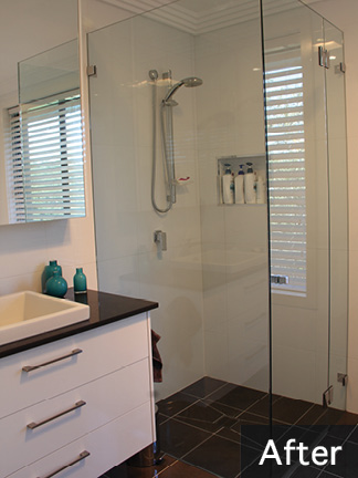 Bathroom Renovation - Leanne & Damian, Gymea Bay