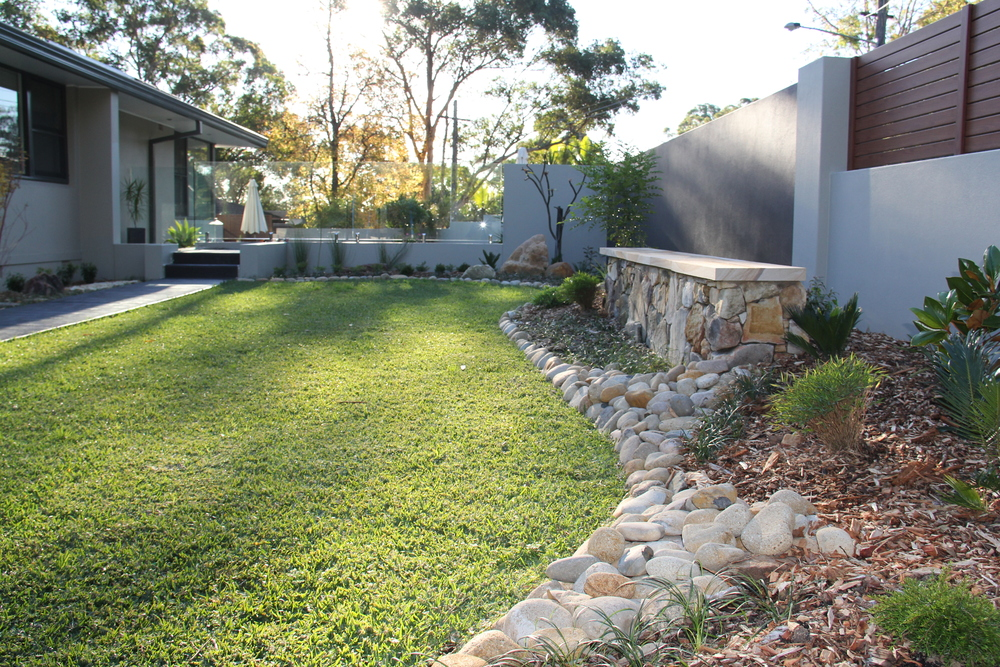 Nikki & James, Como - Landscape Renovation