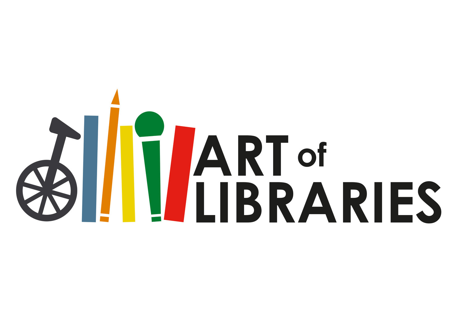 Image result for Art of libraries gloucestershire logo