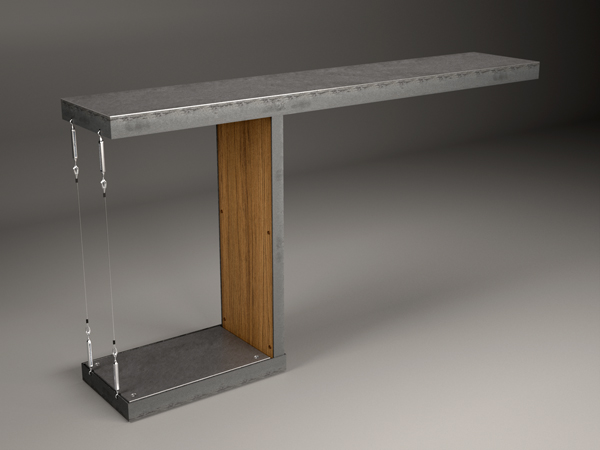 Cantilevered Table Lift Architects