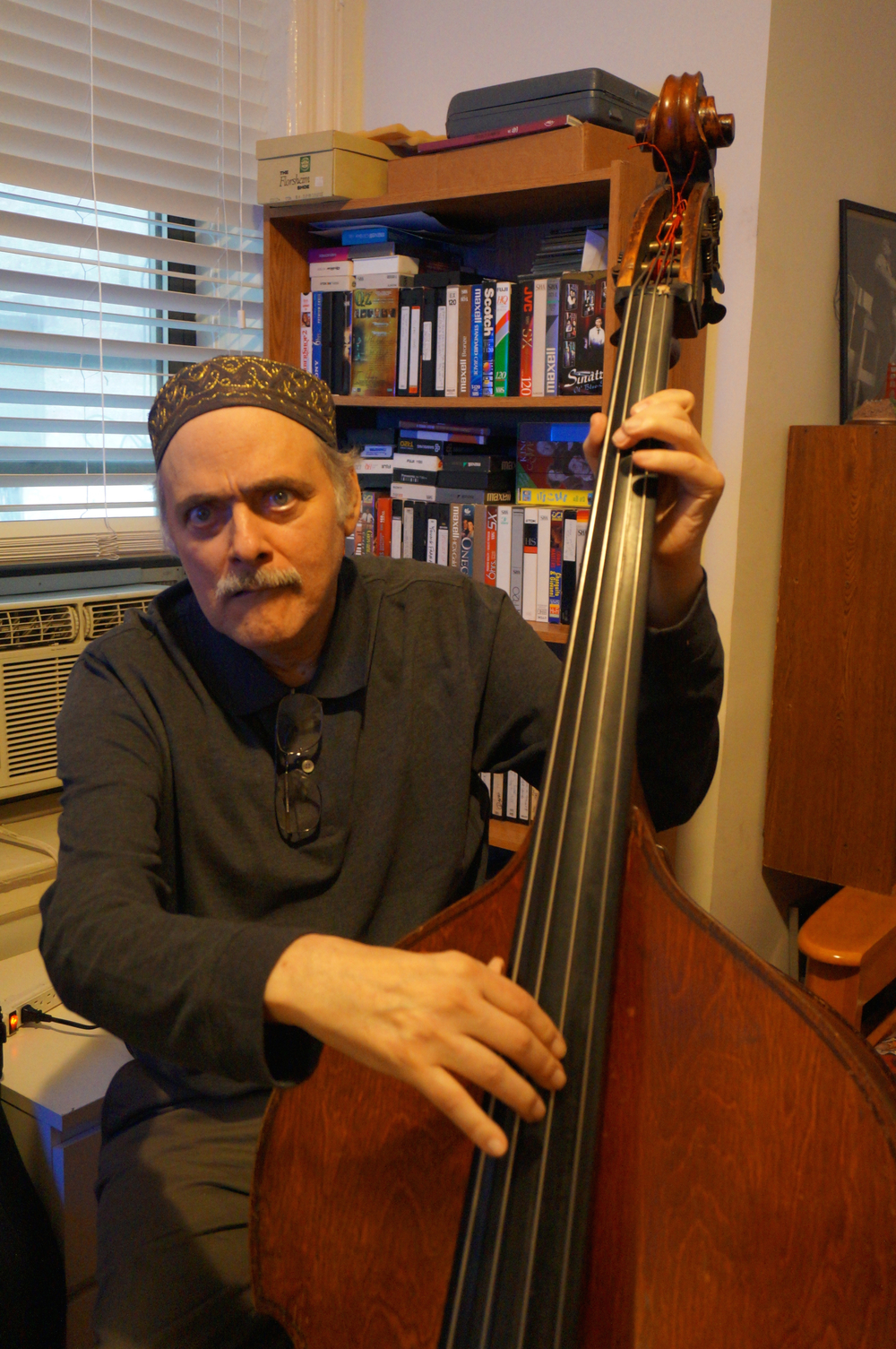 Andy Gonzalez  is a renowned Latin Jazz bassist.  He was a founding member of   Grupo Folklórico y Experimental Nuevayorkino the Fort Apache Band.