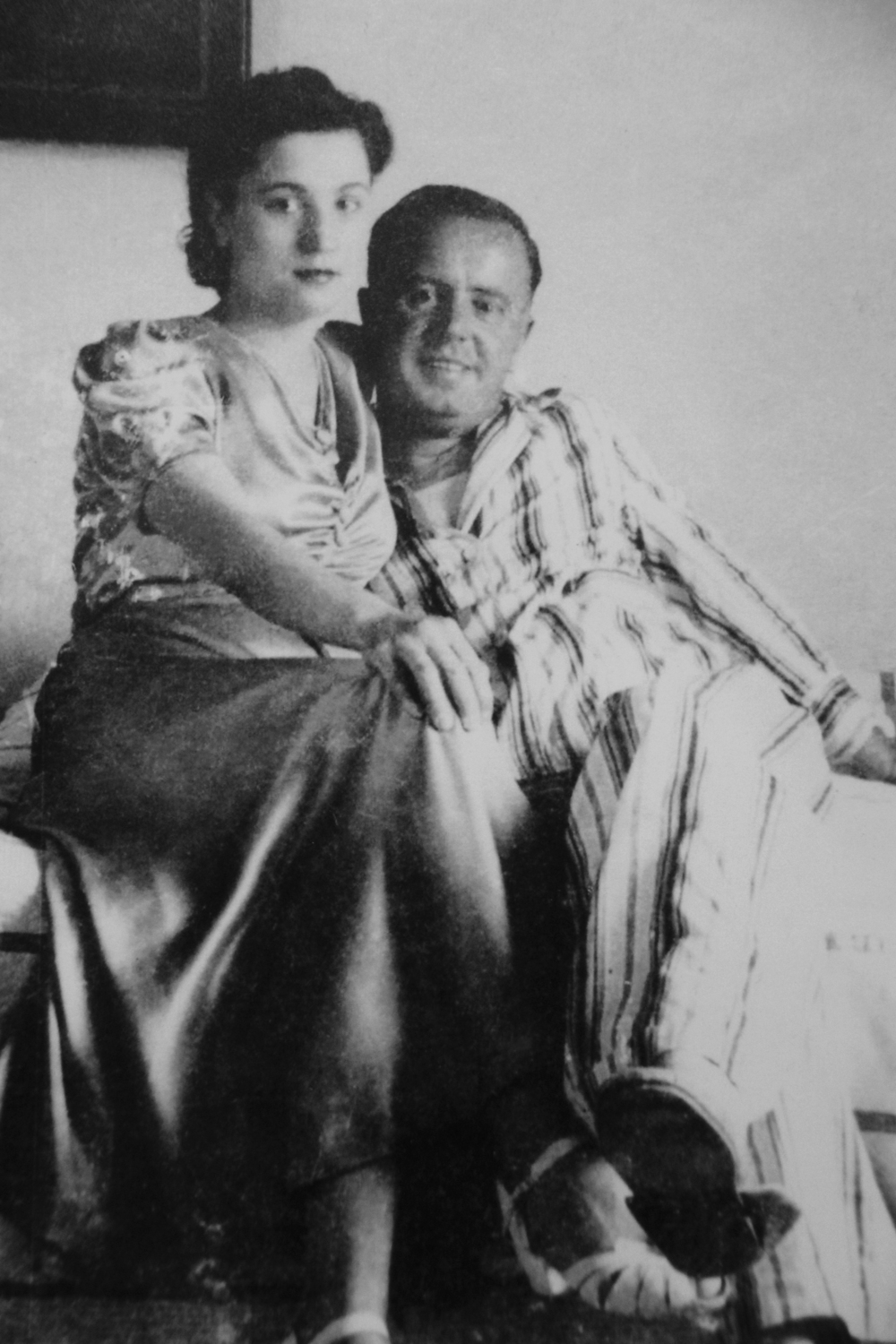 Keramidas with his wife, Ula