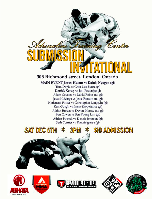 Adrenaline Training Center Submission Invitational.