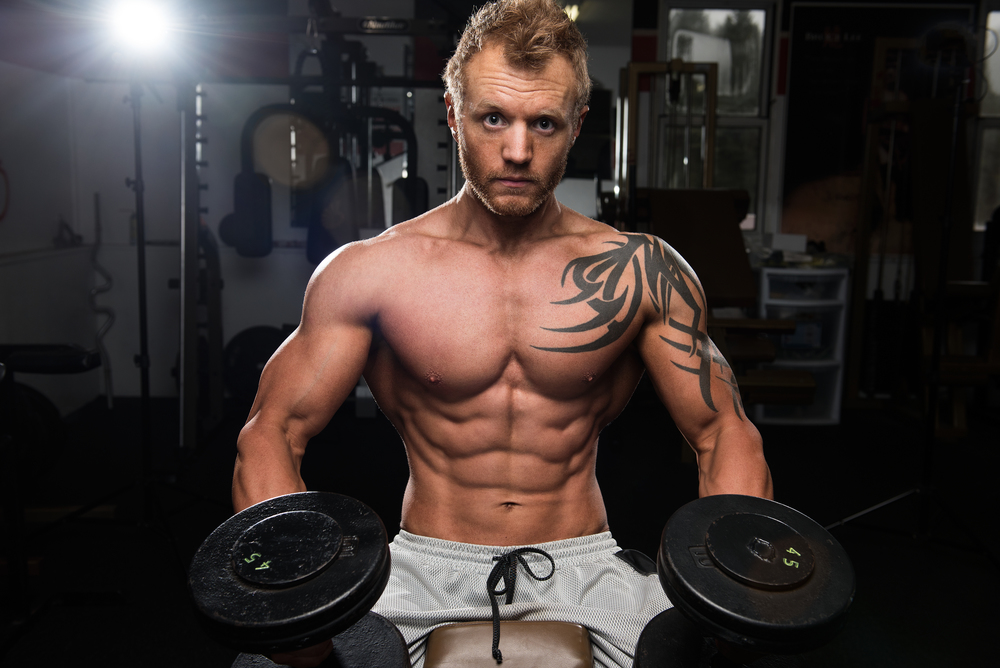 Thomas Fitness Calendar Shoot