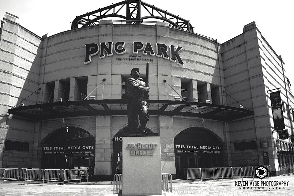 out front of PNC PARK - Pittsburgh