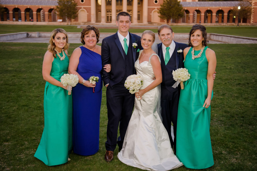 Courtney and Jordan's wedding