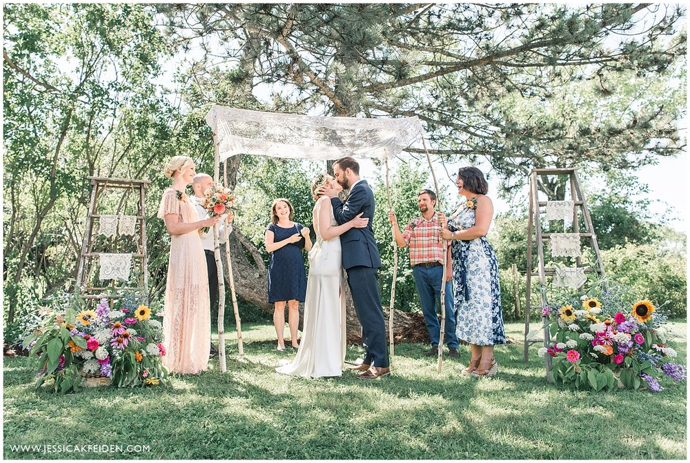 Jessica K Feiden Photography - Vermont Backyard Wedding Photographer_0015.jpg