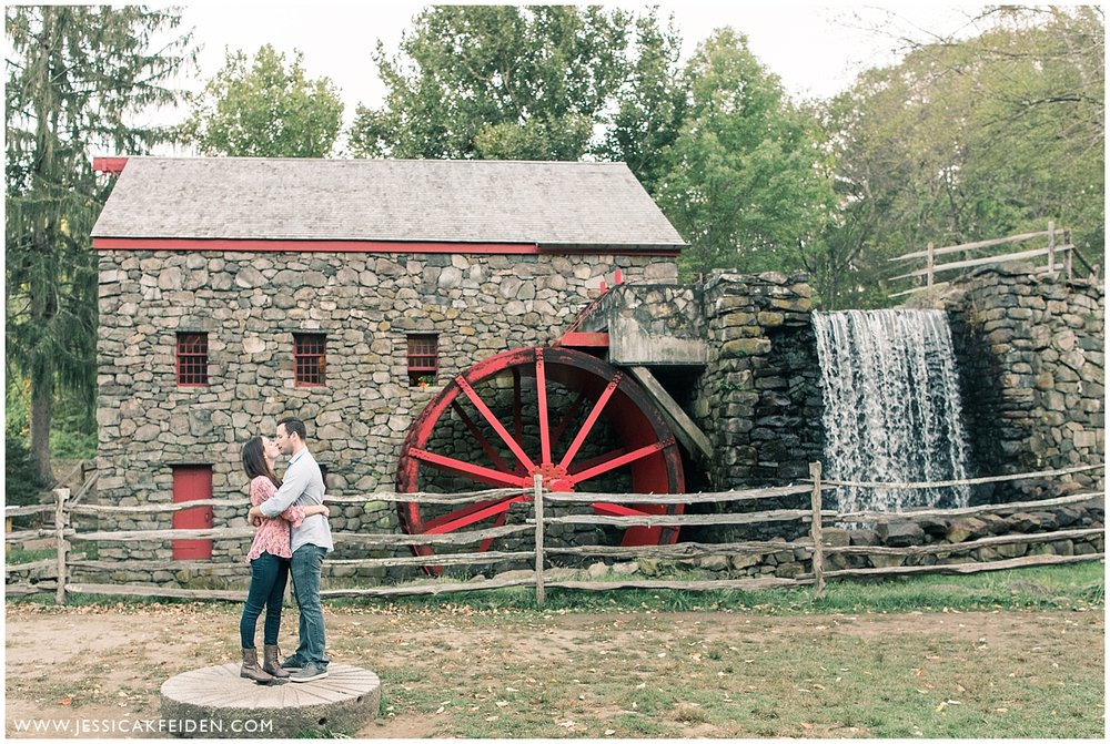 Jessica K Feiden Photography - Grist Mill Engagement Session_0008.jpg