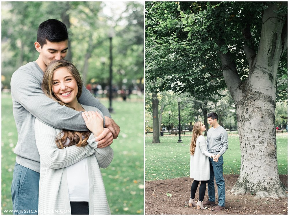 Jessica K Feiden Photography - Boston Public Garden Engagement Session - Boston Wedding Photographer_0001.jpg