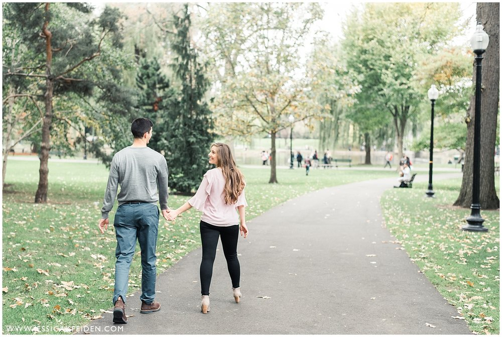 Jessica K Feiden Photography - Boston Public Garden Engagement Session - Boston Wedding Photographer_0002.jpg