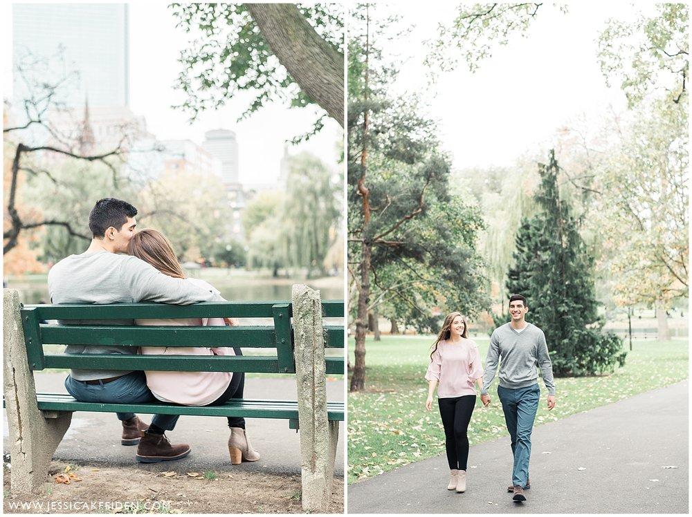 Jessica K Feiden Photography - Boston Public Garden Engagement Session - Boston Wedding Photographer_0003.jpg