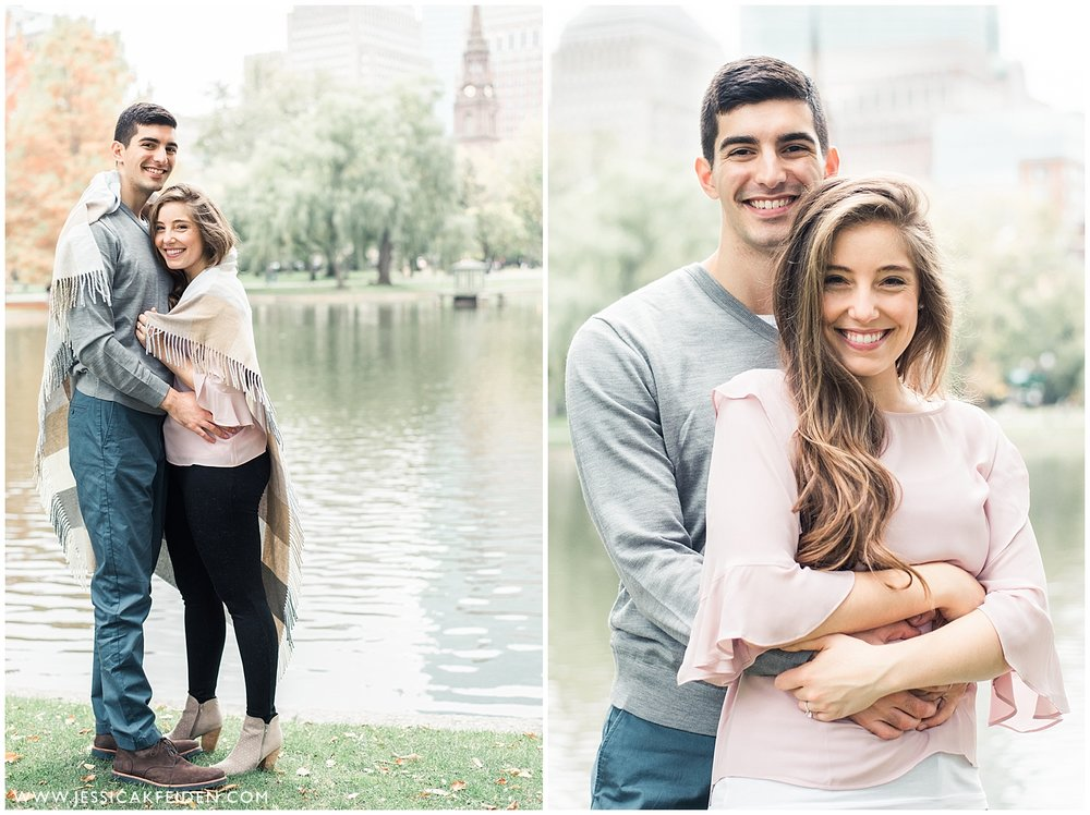 Jessica K Feiden Photography - Boston Public Garden Engagement Session - Boston Wedding Photographer_0006.jpg