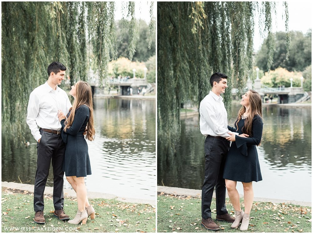 Jessica K Feiden Photography - Boston Public Garden Engagement Session - Boston Wedding Photographer_0011.jpg
