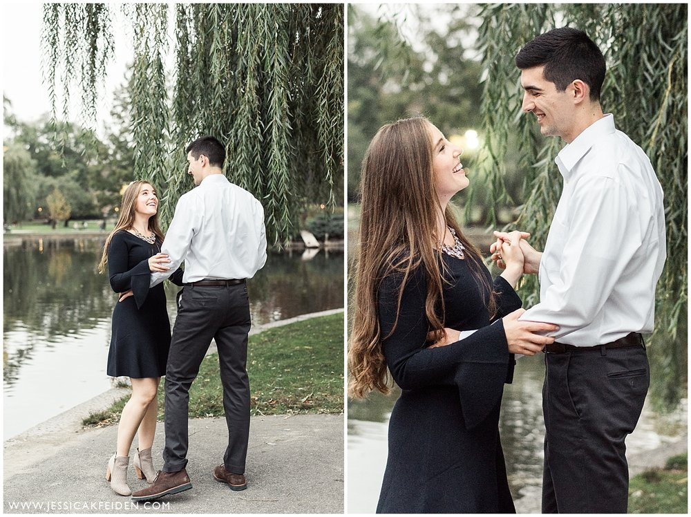 Jessica K Feiden Photography - Boston Public Garden Engagement Session - Boston Wedding Photographer_0013.jpg