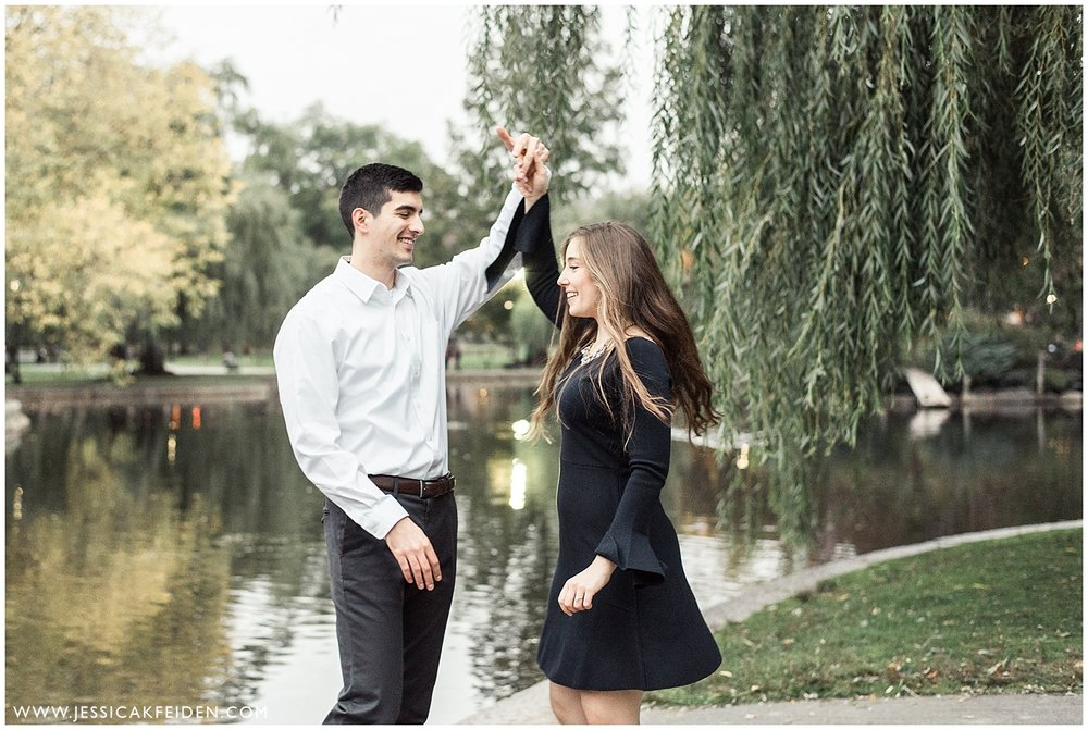Jessica K Feiden Photography - Boston Public Garden Engagement Session - Boston Wedding Photographer_0014.jpg