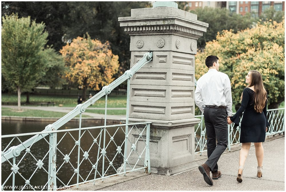 Jessica K Feiden Photography - Boston Public Garden Engagement Session - Boston Wedding Photographer_0015.jpg