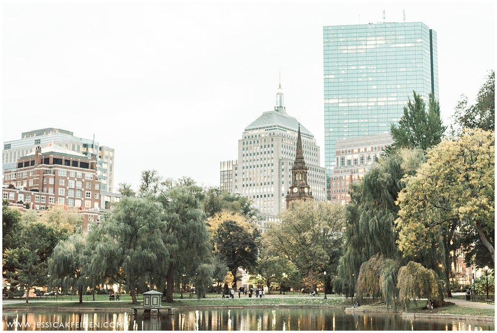 Jessica K Feiden Photography - Boston Public Garden Engagement Session - Boston Wedding Photographer_0016.jpg