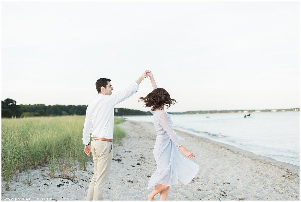Jessica K Feiden Photography_Oregon Beach Cotuit Engagement Session_0009.jpg