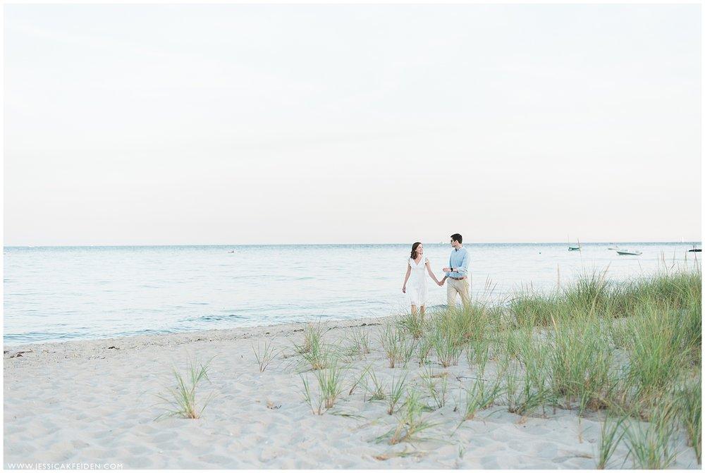 Jessica K Feiden Photography_Oregon Beach Cotuit Engagement Session_0010.jpg