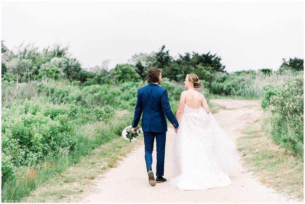 Elegant Coastal Martha's Vineyard Inspired Wedding | Harbor View Hotel | Jessica K Feiden Photography