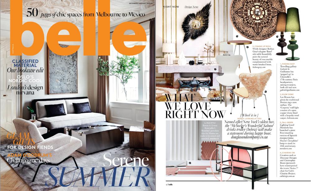 Belle Magazine December 2015