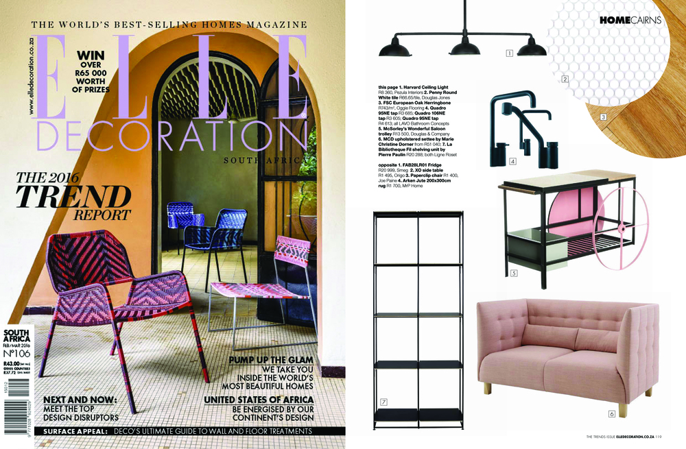 ELLE DECORATION FEB/MARCH 2016