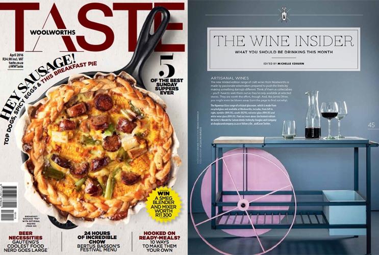 TASTE Magazine April 2014