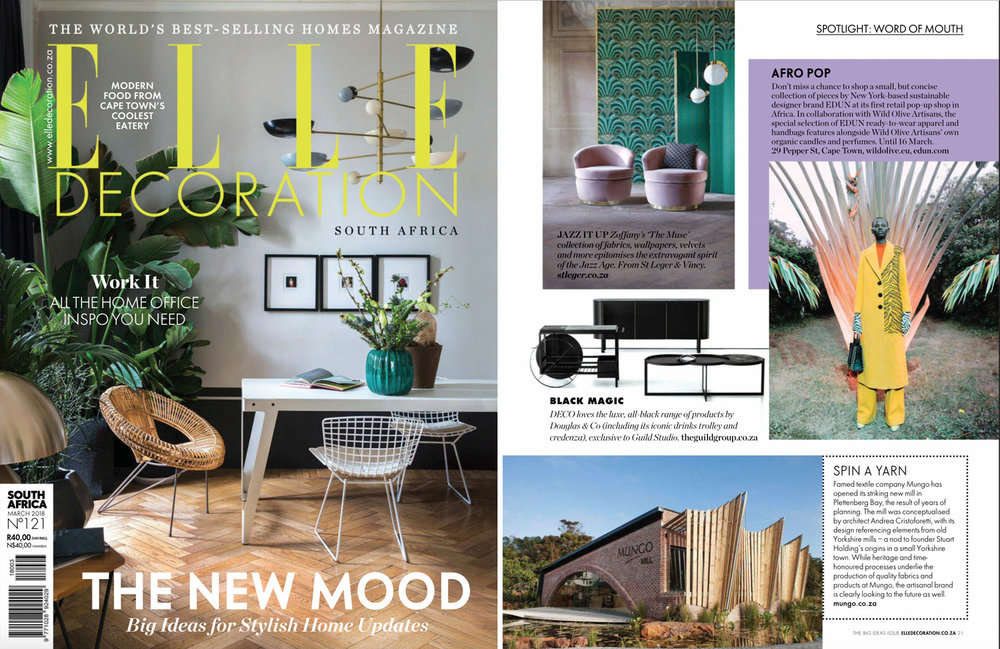 Elle Decoration South African March 2018
