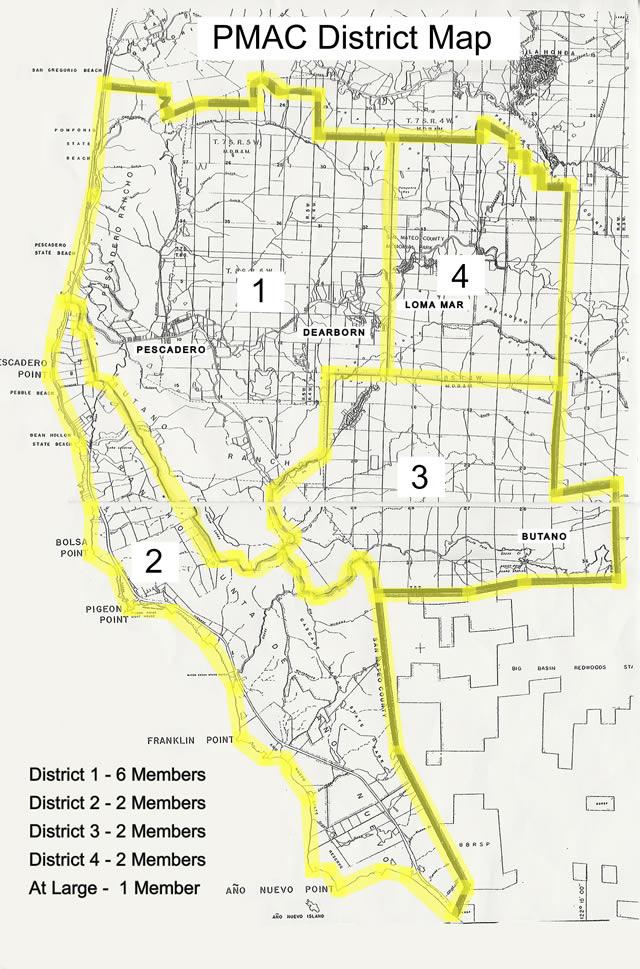 PMAC Area Map