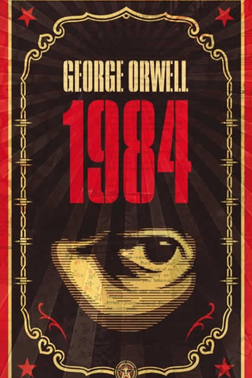 1984 , by george orwell