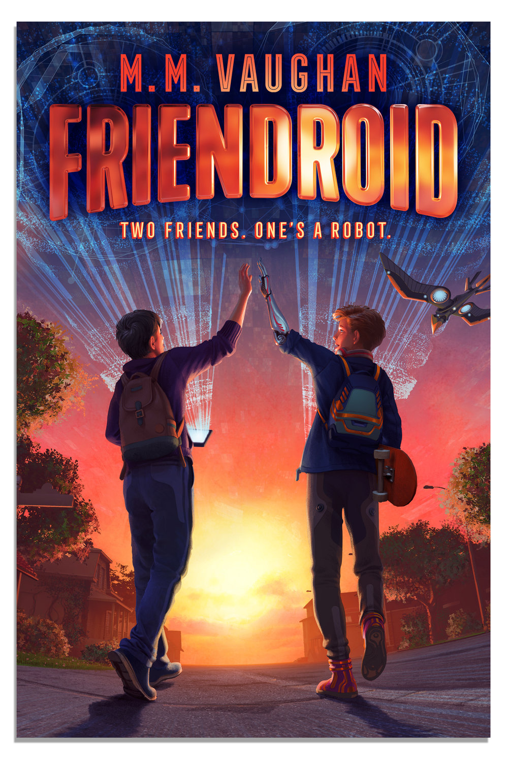 FRIENDROID  (USA & CANADA) SIMON & SCHUSTER 2019
