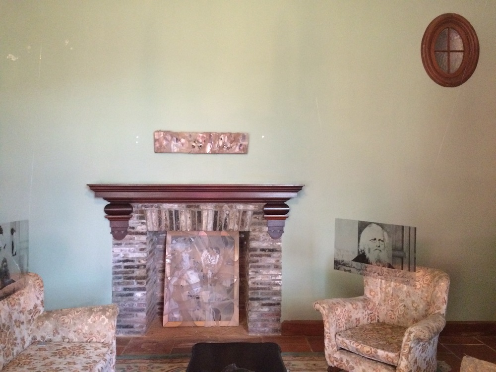 Marcus Viljoen (above furniture) and Alice Gauntlett (fireplace)