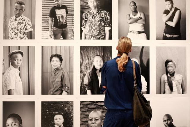Photo file from The Photographers Gallery, London. (2015) by Zanele Muholi