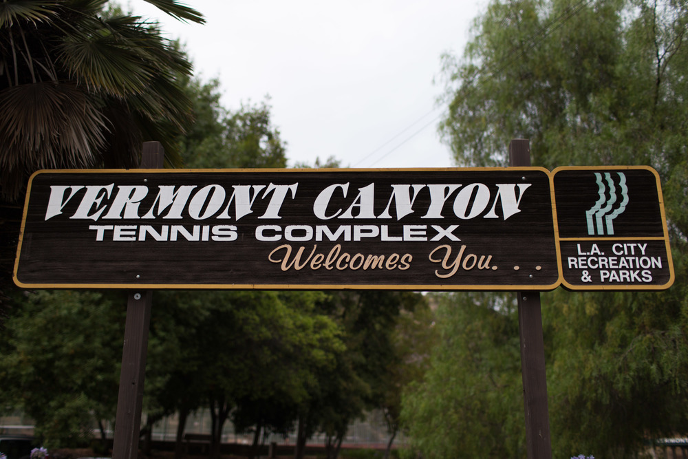 Vermont Canyon Tennis Complex, Los Angeles, Parks and Recreation