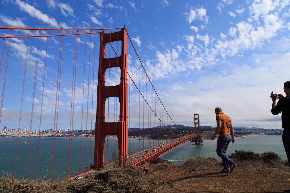 Golden Gate Bridge, San Francisco, People, Travel
