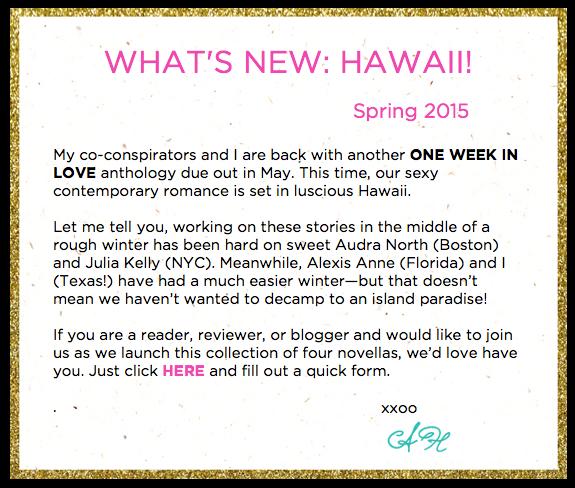 Alexandra Haughton Spring 2015 Update