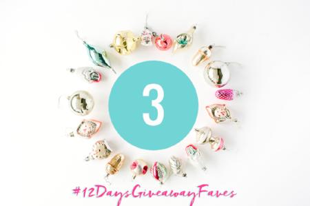 #12DaysGiveawayFaves