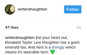 WriterAHaughton Instagram