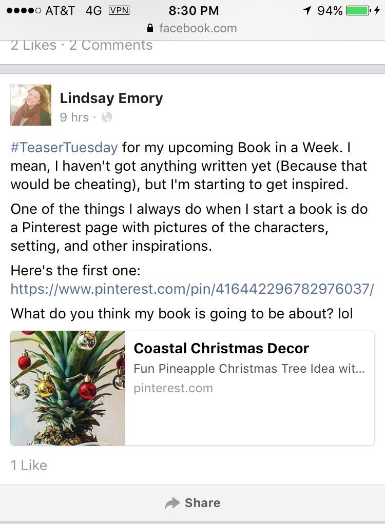 Lindsay-Emory-Book-in-a-Week