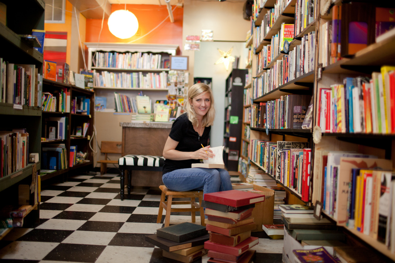 Amy Stephenson's Get Lost Bookshop, for the Columbia Business Times