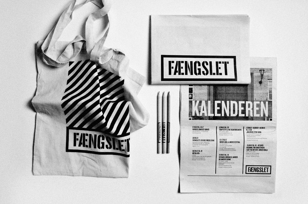 Merchandise and newspaper - FÆNGSLET