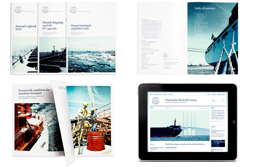 Identity design - The Danish Shipowners' Association