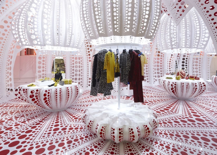 Louis Vuitton and Yayoi Kusama at Selfridges