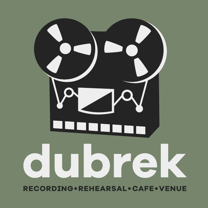 Dubrek Studios - Recording, rehearsal, performance space, music shop and cafe serving as Derby's music community hub in the heart of the city