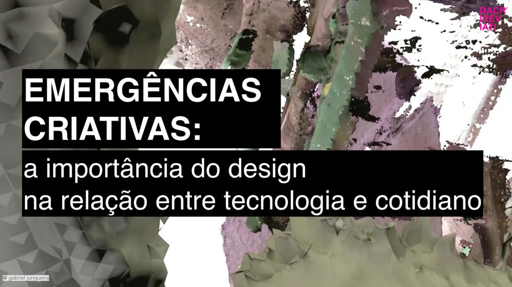EMERGÊNCIAS CRIATIVAS @ SPFW_ mar 2017   Apresentação no ciclo de palestras do #ProjetoEstufa, plataforma para marcas novas e independentes durante a semana de moda de São Paulo.