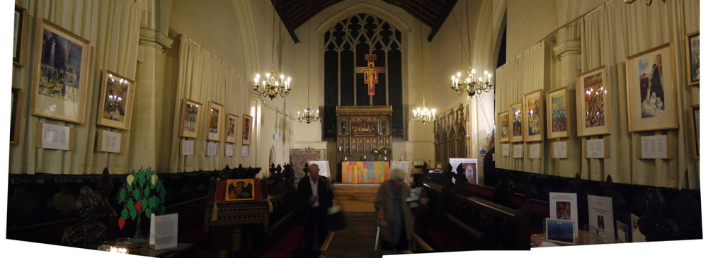 The chapel in Michaelhouse where my pics were on show