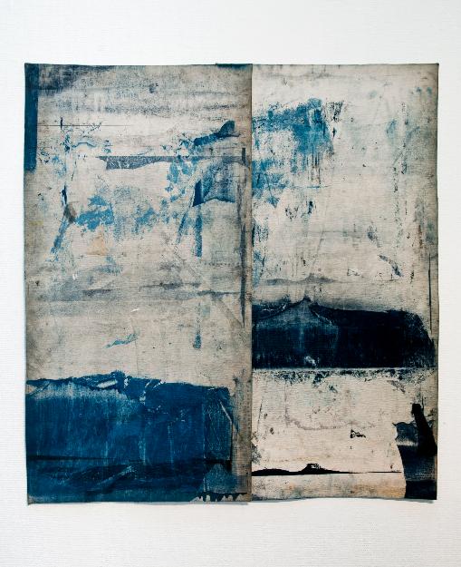 Objet Trouves , Oil on Felt, 110x165cm, Photograph Alan Sams