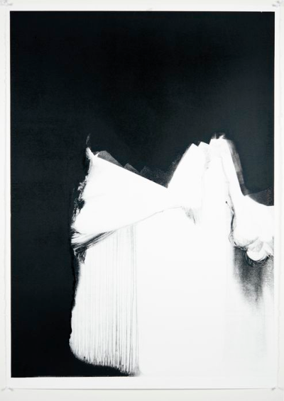 A Deliverer From a Weight Coming Unendurable, Monotype On Cartridge Paper , 70x100cm, Photograph Alan Sams