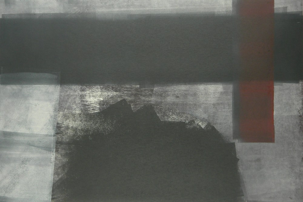 Untitled , MonotypeOn Cartridge Paper, 65x40cm