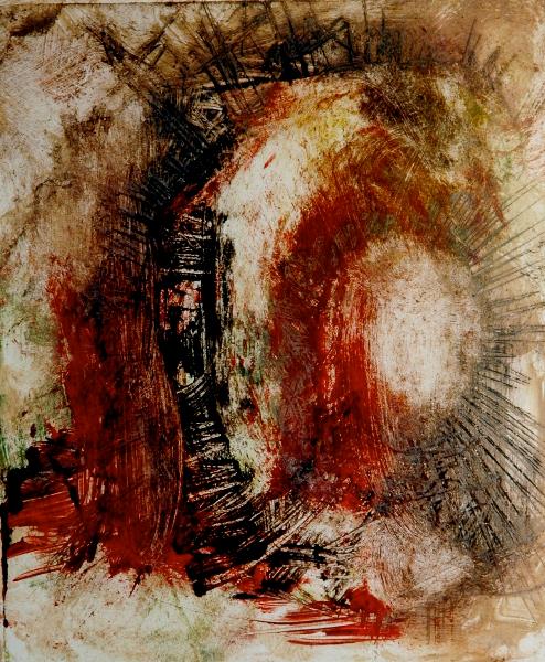 Untitled , EtchingOn Cartridge Paper,15x30cm